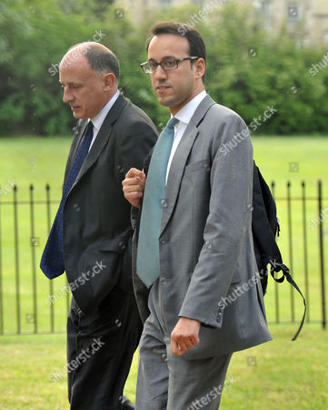 News International Summer Party at the Orangery Kensington Palace Miguel Head (r)