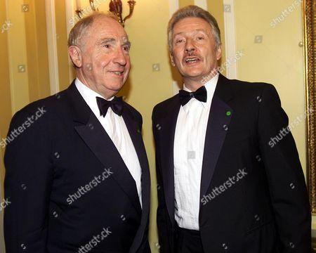 Editorial image of Nigel Hawthorne with His Partner Trevor