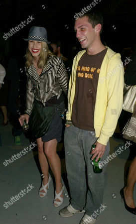Nokia Alive at Night Party at the Old Dairy Wakefield Street London Petrina Khashoggi with Her Brother William Aitken