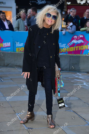 Stock Image of 04 04 16 Opening Night Gala of Exhibitionism at Saatchi Gallery Annie Nightingale