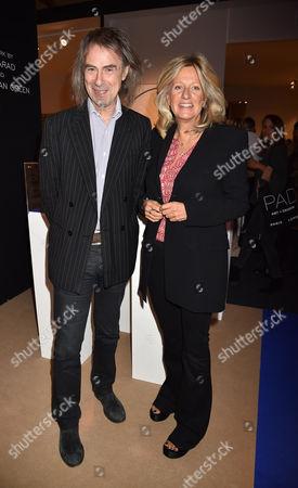 12 10 15 Pad London at Berkeley Square Private View Ivor Braka and Princess Chantal of Hanover