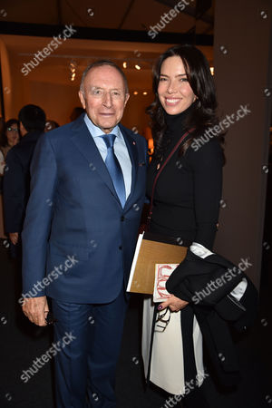 Stock Picture of 12 10 15 Pad London at Berkeley Square Private View Laurence Graff and Josephine Daniel