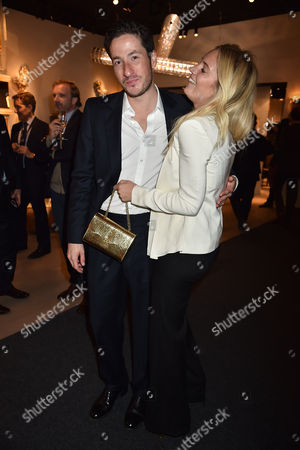 12 10 15 Pad London at Berkeley Square Private View Blaise Patrick and Marissa Montgomery