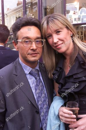 Party to Launch New Jewellery Collection at 'Hamiltons and Inches' Beachamp Place London Tomasz Starzewski and Caroline Armstrong Jones