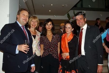 Pre-conference Season Party at M&c Saatchi Lord Strathclyde Carole Stone Jasmine Naghar Jenny Parsons and Bernard Jenkin