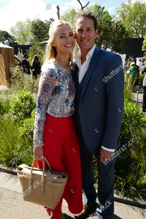 23 05 16 Press Day at Chelsea Flower Show at the Royal Hospital Chelsea West London Brendon Cole and His Wife Zoe