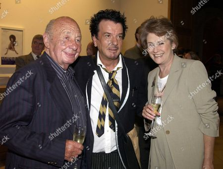 Private View at the National Portrait Gallery London For Lichfield the Early Years 1962-1982 Nicky Haslem & the Richies