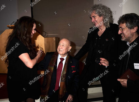 16 12 15 Starmus Panel Announces Ground-breaking Stephen Hawking Medals For Science Communication at the Royal Society Carlton House Terrace Sarah Brightman Alexei Leonov and Dr Brian May