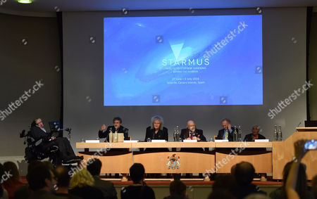 16 12 15 Starmus Panel Announces Ground-breaking Stephen Hawking Medals For Science Communication at the Royal Society Carlton House Terrace