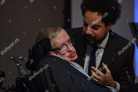 Editorial picture of Professor Stephen Hawking Medal