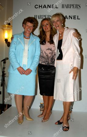 Reception to Celebrate the Launch of Harpers & Queen Business Edition and to Announce the H&q/chanel Businesswoman of the Year Awards at Somerset House Businesswoman of the Year Vivienne Cox Lucy Yeomans and Entrepreneur of the Year Laura Tenison