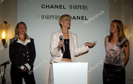 Reception to Celebrate the Launch of Harpers & Queen Business Edition and to Announce the H&q/chanel Businesswoman of the Year Awards at Somerset House Tess Macleod Smith Entrepreneur of the Year Laura Tenison with and Lucy Yeomans