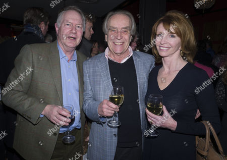 13 01 16 Screening of Attacking the Devil at the Picturehouse Central Shaftsbury Ave London Roy Greenslade with Gerald Scarfe and Jane Asher