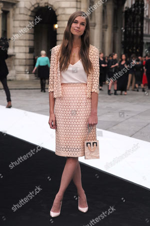 London, England, 7th June 2016: Sophie Hulme at the Royal Academy of Arts Summer Exhibition Preview Party 2016 in Burlington House, London On the 7th June 2016.