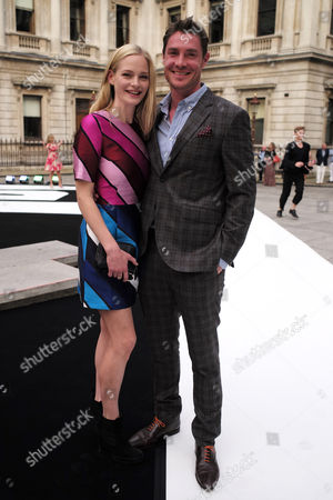 London, England, 7th June 2016: Annabelle Horsey and Max Brown at the Royal Academy of Arts Summer Exhibition Preview Party 2016 in Burlington House, London On the 7th June 2016.
