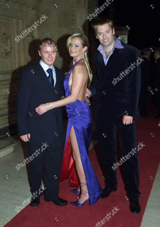 The 2001 National Television Awards at the Royal Albert Hall Steven Arnold Tracey Shaw and Stephen Beckett