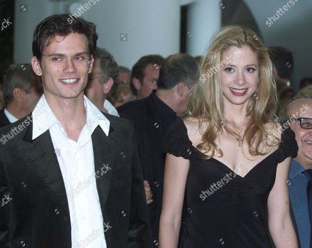 The 2001 Venice Film Festival - 'The Triumph of Love' Mira Sorvino and Jay Rodan