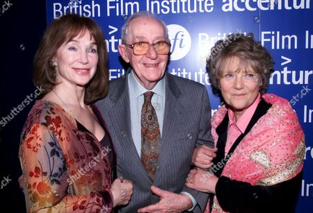 The Bfi Hold A Gala Screening of 'Alfie' at the Plaza Lower Regent Street to Celebrate It's Re-release in Cinemas Shirley Anne Field Lewis Gilbert and Julia Foster