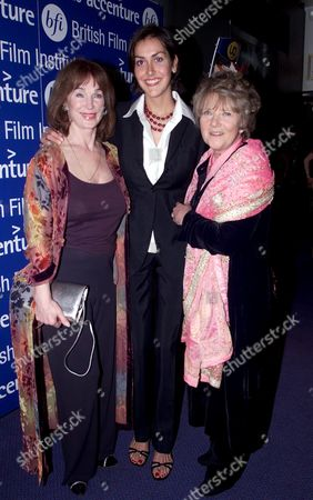 The Bfi Hold A Gala Screening of 'Alfie' at the Plaza Lower Regent Street to Celebrate It's Re-release in Cinemas Shirley Anne Field Natasha Caine and Julia Foster