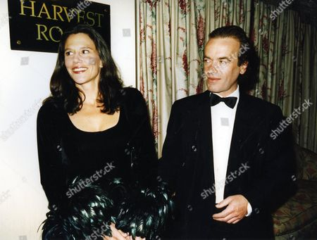 The Book Aawards Martin Amis with His Wife Isabel Fonseca