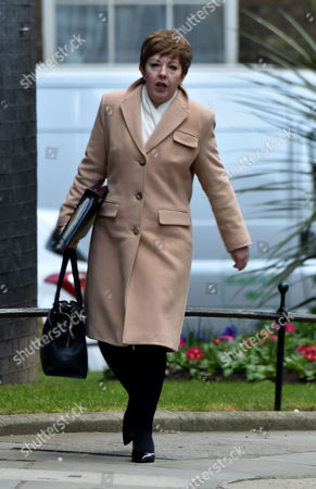 16 03 16 the Budget Members of the Cabinet Arrive at Number 10 Downing Street to Be Told Whats in the Budget the Rt Hon Baroness Stowell of Beeston Lord Privy Seal Leader of the House of Lords