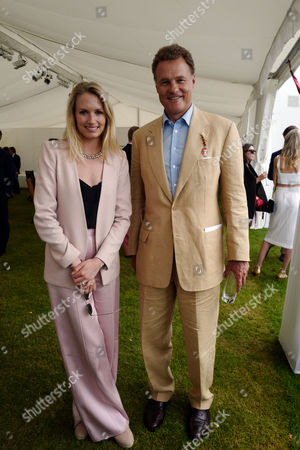 11 06 16 the Cartier Queen's Cup Final at Guards Polo Club Sofia Wellesley and Lord Jonathan Rothermere