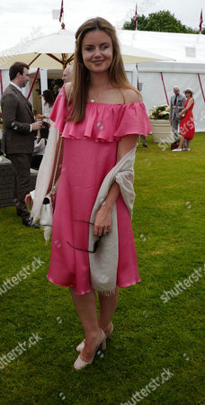 Stock Photo of 11 06 16 the Cartier Queen's Cup Final at Guards Polo Club Lady Natasha Rufus Isaacs