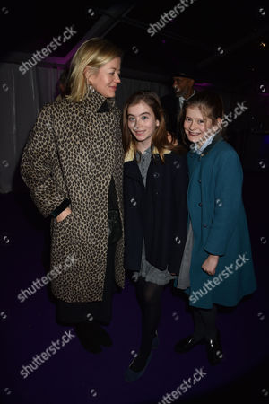 01 12 15 the Foundation Carol Service in Aid of the St Paul's Knightsbridge Foundation at St Paul's Church Wilton Place Knightsbridge London Lady Helen Taylor and Her Daughters Eloise Taylor and Estella Taylor