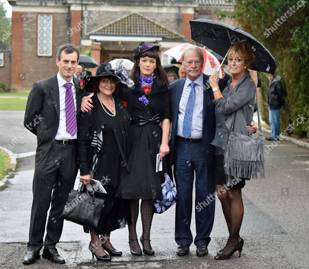 Editorial image of The Funeral of George Cole