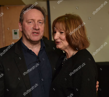 08 12 15 the Josephine Hart Poetry Hour at the British Library the Readers Neil Dudgeon & Deborah Findlay