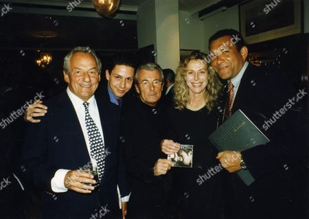 The Launch Party For Nigel Dempster's New Magazine 'Dempsters' at Bond Street Johnny Gold Nick Gold Terry O'neill Lorraine Ashton and Bruce Oldfield