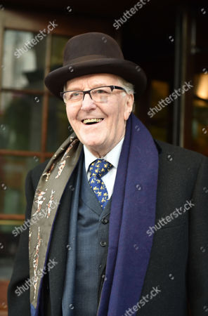 Stock Photo of 02 02 16 the Oldie Awards Lunch at Simpsons Resturant the Strand London Robert Hardy