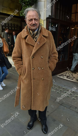 02 02 16 the Oldie Awards Lunch at Simpsons Resturant the Strand London Peter Bowles