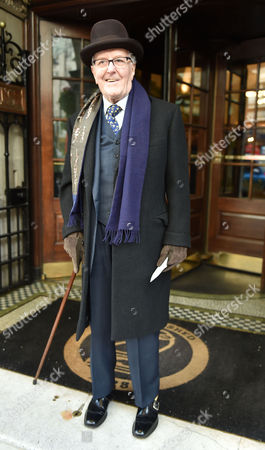 02 02 16 the Oldie Awards Lunch at Simpsons Resturant the Strand London Robert Hardy