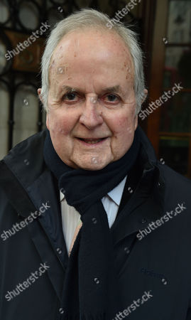 Stock Picture of 02 02 16 the Oldie Awards Lunch at Simpsons Resturant the Strand London Rodney Bewes