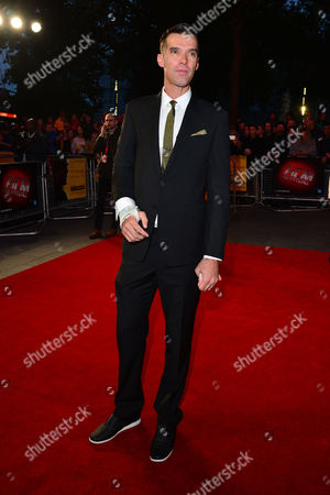 Stock Photo of 10 10 15 the Program Film Screening During the Bfi London Film Festival at the Odeon Leicester Square David Millar