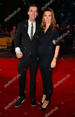 10 10 15 the Program Film Screening During the Bfi London Film Festival at the Odeon Leicester Square David Millar with His Wife Nicole