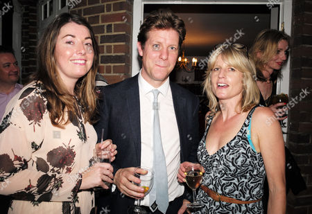 01 07 15 the Spectator Magazine Summer Party at Their Offices in Old Queen Street Westminster London Fraser Nelson & Rachel Johnson