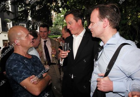 01 07 15 the Spectator Magazine Summer Party at Their Offices in Old Queen Street Westminster London Steve Hilton Prime Minister David Cameron & Graig Oliver