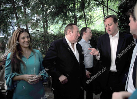 01 07 15 the Spectator Magazine Summer Party at Their Offices in Old Queen Street Westminster London Andrew Neil Prime Minister David Cameron & Fraser Nelson