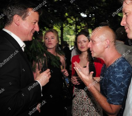01 07 15 the Spectator Magazine Summer Party at Their Offices in Old Queen Street Westminster London Prime Minister David Cameron and Steve Hilton