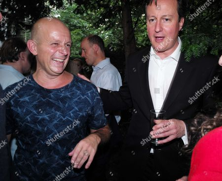 01 07 15 the Spectator Magazine Summer Party at Their Offices in Old Queen Street Westminster London Steve Hilton & Prime Minister David Cameron