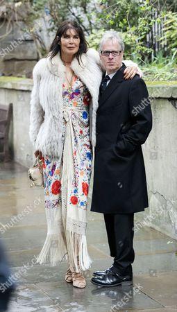 05 03 16 the Wedding Blessing of Rupert Murdoch and Jerry Hall at St Brides Church Fleet Street City of London Annabel Brooks and James Dearden