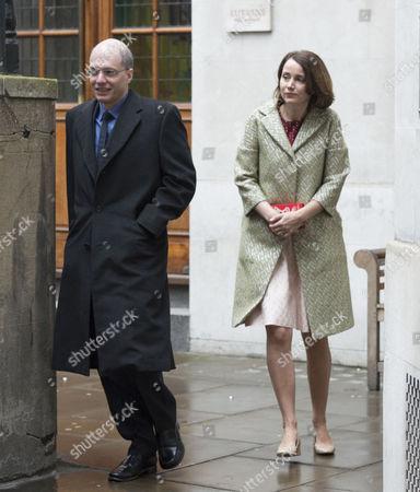 05 03 16 the Wedding Blessing of Rupert Murdoch and Jerry Hall at St Brides Church Fleet Street City of London Alain De Botton