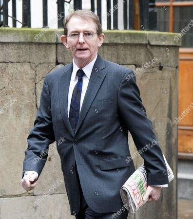 05 03 16 the Wedding Blessing of Rupert Murdoch and Jerry Hall at St Brides Church Fleet Street City of London Editor of the Sun Tony Gallagher