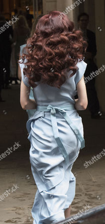 05 03 16 the Wedding Blessing of Rupert Murdoch and Jerry Hall at St Brides Church Fleet Street City of London Elizabeth Jagger