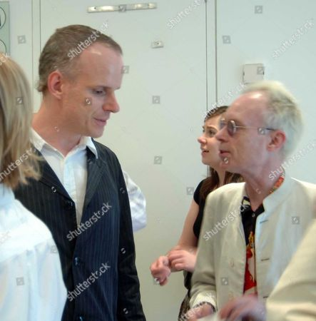 Private View of Thomas Demand at the Serpentine Gallery Kensington Gardens London Hans Ulrich Obrist