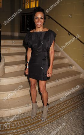 27 08 15 Transfer of Mcqueen to Theatre Royal Haymarket After Party at the Cafe Royal Dame Kelly Holmes
