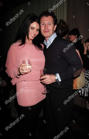 27 08 15 Transfer of Mcqueen to Theatre Royal Haymarket After Party at the Cafe Royal Nick Moran and Dr Jasmin Duran