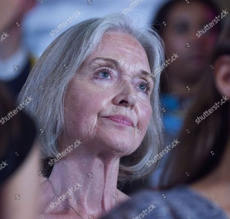 01 09 15 Jeremy Corbyn Vision of the Future of Art at the Arcola Theatre Dalston London Anna Ford